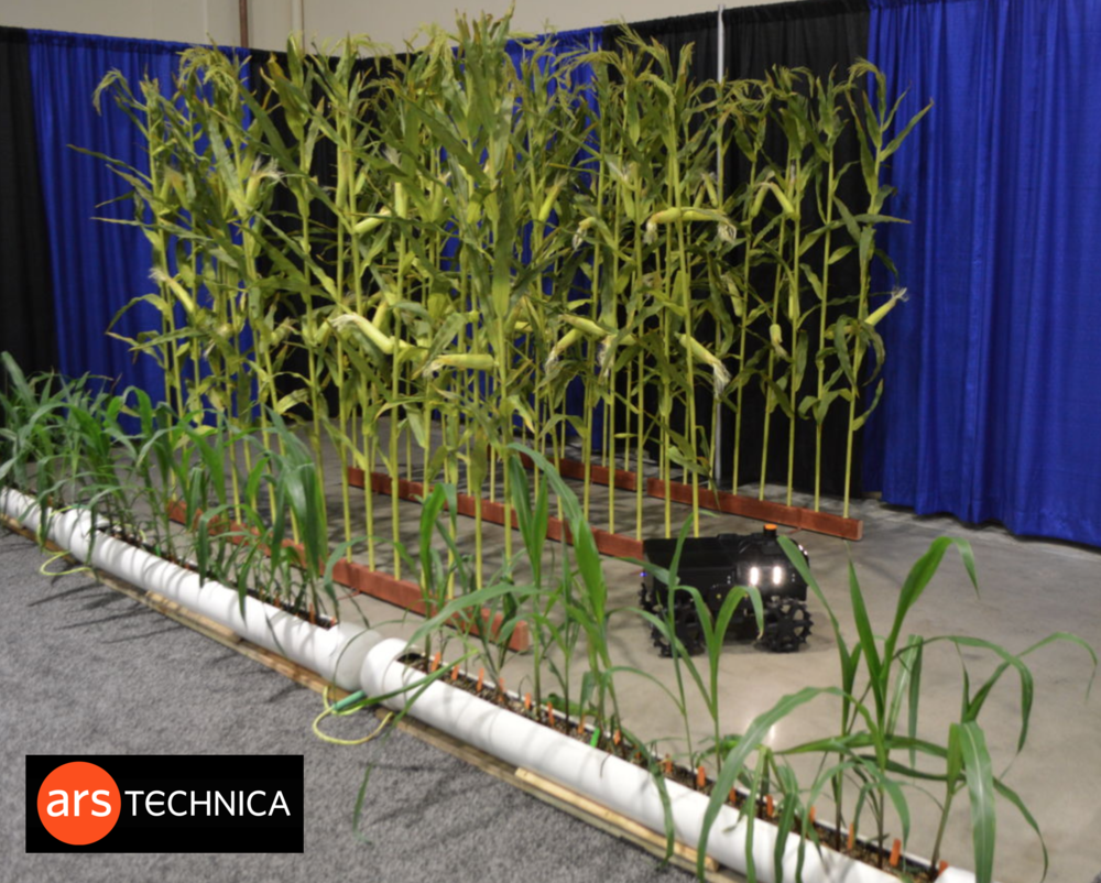 """ArsTechnica.com - """"Using this little guy to monitor thousands of acres of biofuel crops (or any other crops) could help farmers make more targeted decisions about how to manage irrigation or invasive species defense."""" - March 2018"""