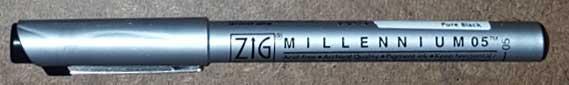 Millennium Marker Pen by Kuretake Zig
