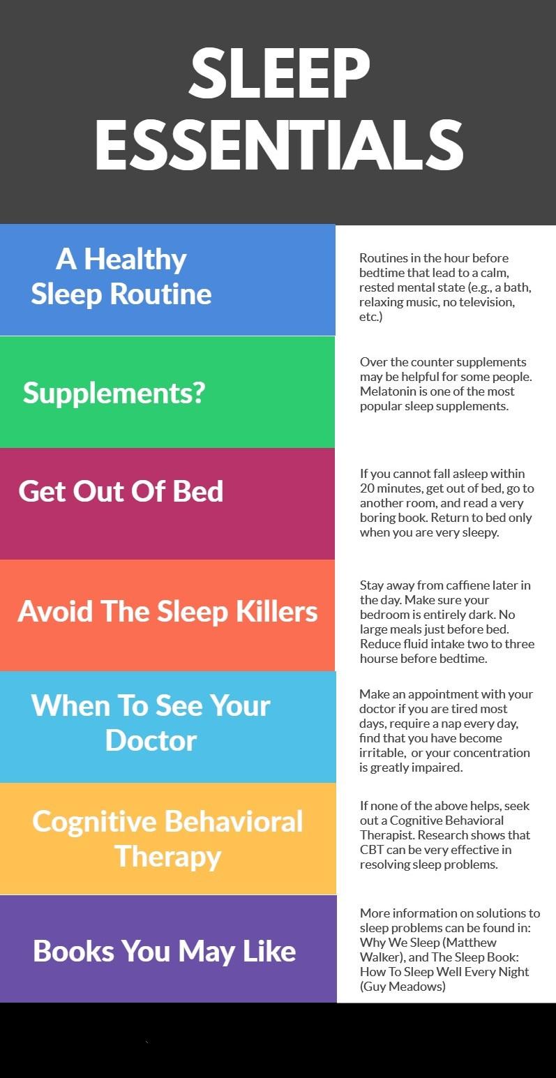 Insomnia Ways to solve insomnia