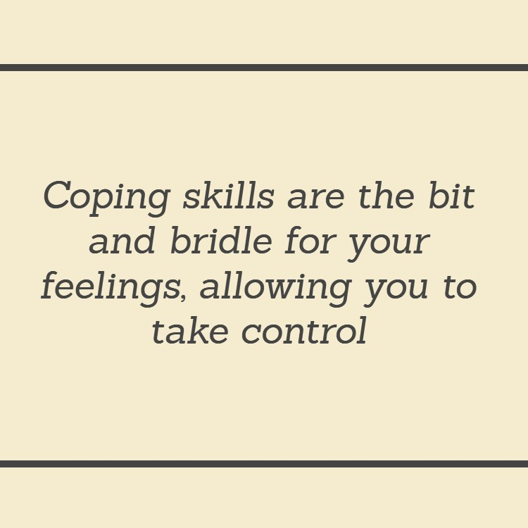 Anxiety and depression are reduced by controlling behavior