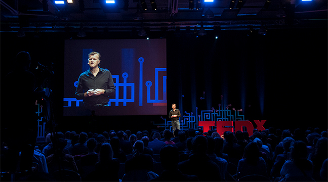 TEDx Lausanne 2017, TED Talk (*)