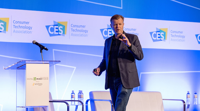 Digital Money Forum 2016 & 2018, CES, Las Vegas, Emcee (*)