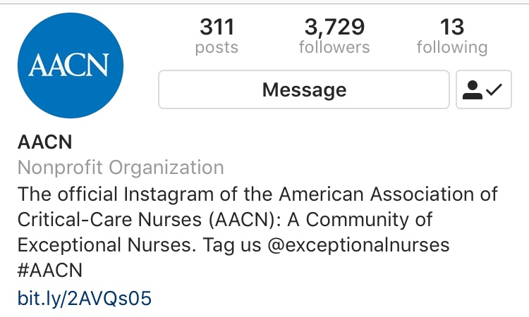 American Association of Critical-Care Nurses -