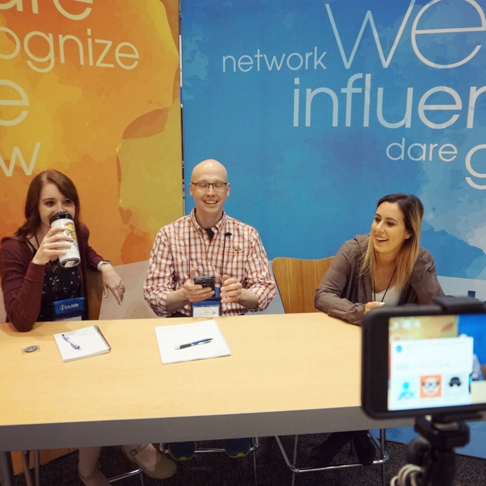 I was one of three lucky people who was asked to be an NTI social Media influencer this year! Jon  @technursejon , Marissa  @lipstickandlifesaving , and I would meet up at the end of each day to do a live video recap of the day and talk about our favorite sessions. We always tried to offer some advice to people attending for the first time too, and you can see a recording of the live videos on  AACN's Facebook page .