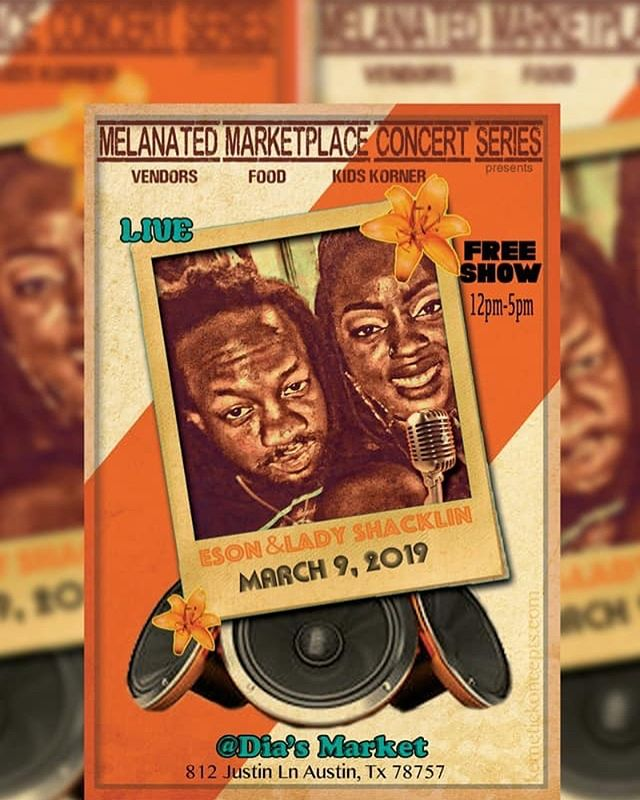 More Fyah!!! #diasmarketatx  #urbanmello #ladyshacklin #esonmusic  #celebration #melanatedmarketplace #march9th #12pm-5pm #vendors #b.o.b #unity #blackaustin #melanain #smallbusinesses #shop #network #brownaustin #letsbuild #sxswunofficial