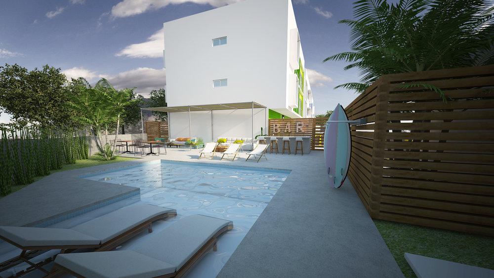 Real Estate San Juan Del Sur, Plaza Talanguera, Common Pool.jpg