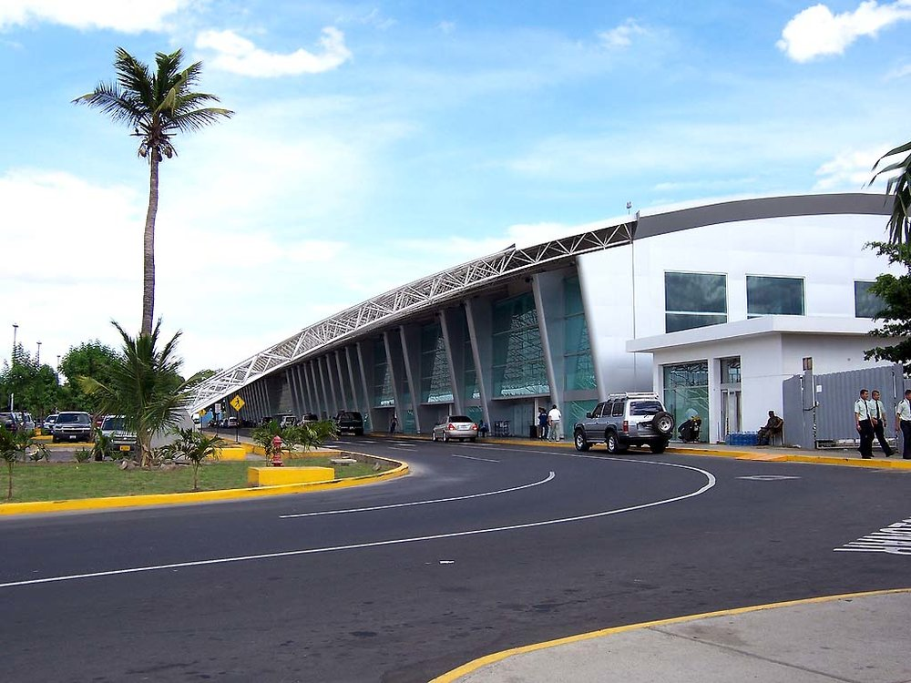 Airlines have decreased the number of flights coming in to Augusto C. Sandino International Airport