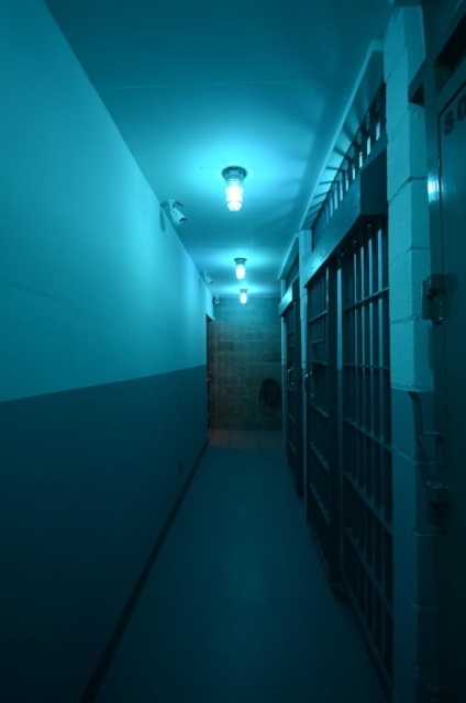 Cell block hallway
