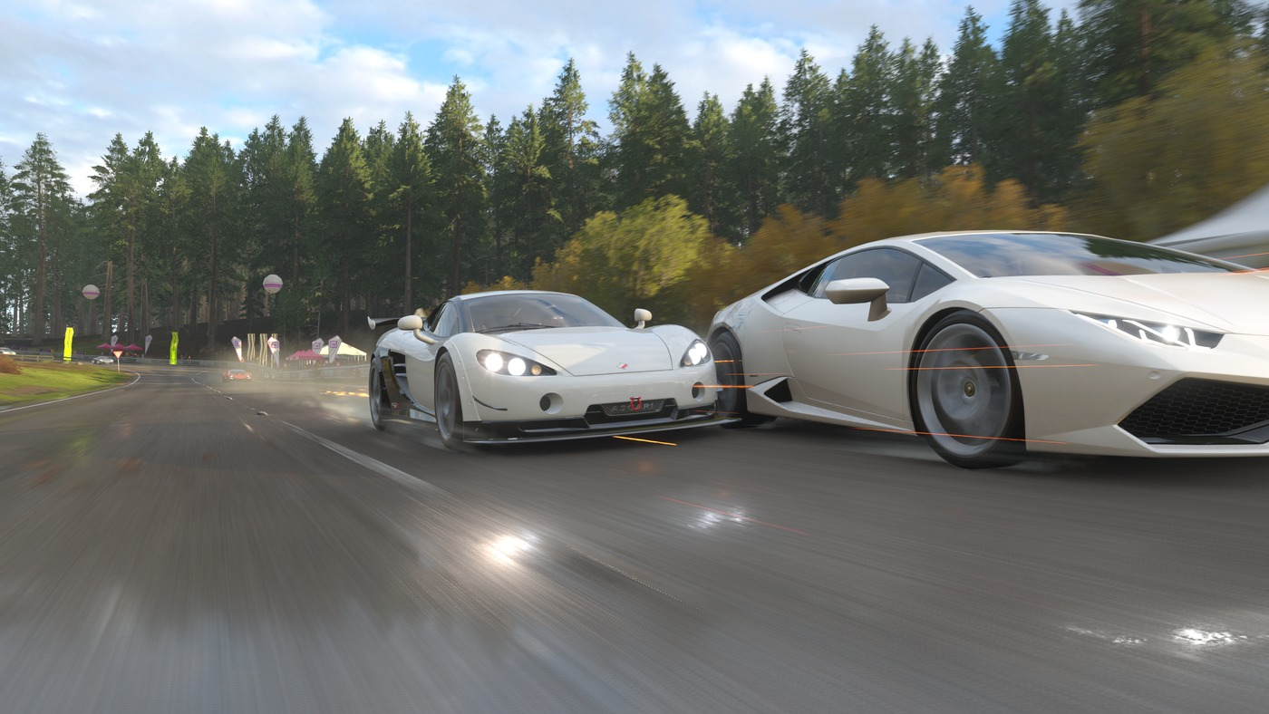 Forza Horizon 4 Analog Stick Gaming