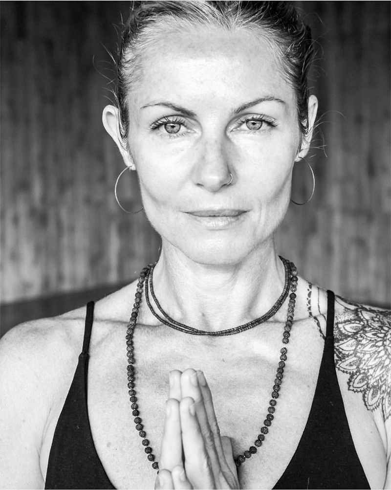 Human Portrait - Sheila's shot of yogi extraordinaire Jyoti Murray