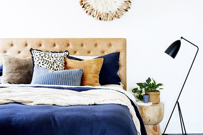 """3. Layering. - This is where the first two elements come together to achieve the end result! We will always layer different textures and tones to create a cosy, considered space. Getting the balance right is the tricky part and where our """"design eye"""" really comes into play."""