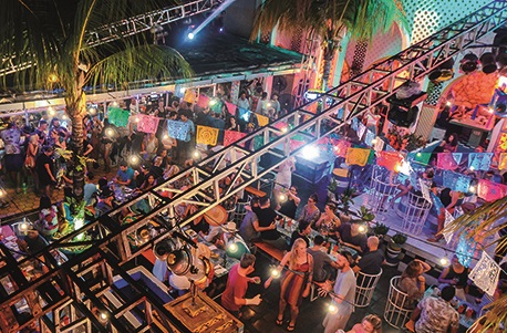 Mexi On Down - Centered in Seminyak's tourist hot spot, Mexicola's interior style, dynamic staff and eclectic beats has vibrancy and energy every night of the week that lures guests for an evening of frivolity.