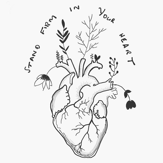 I drew this to remind myself ❤️ #yogaforyou #leadwithlove #nobullshityoga
