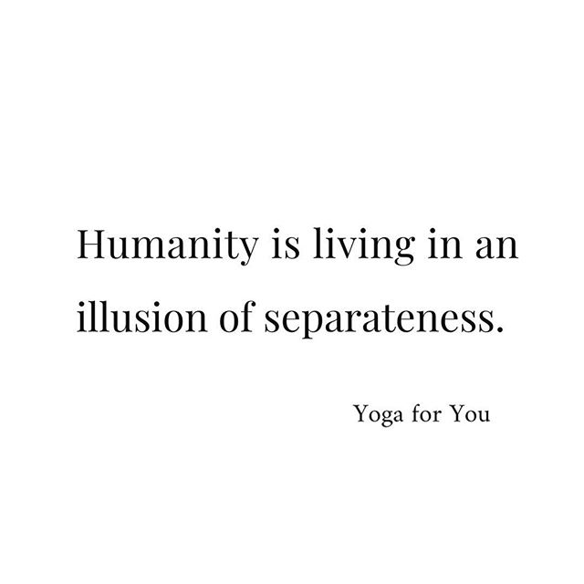 Humanity is living in an illusion of separateness. The Ego is the only thing that is keeping you from knowing who you really are. Ego is beautiful, don't get me wrong. But it is terrible master. Don't let it run the show! Instead, use it when required and the rest of the time live from the Inner Being.  From love ❤️ #oneness #weareone #innerbeing #soul