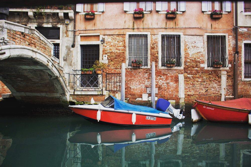 Winter in Venice, Italy
