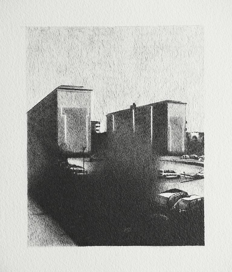 2015, norsborg 20x15cm, Graphite on paper