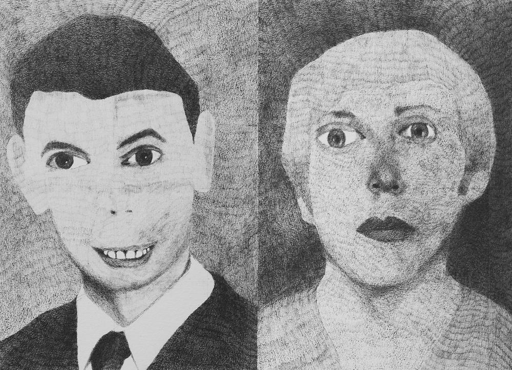2013, James Holmes (Aurora) 20x28cm, Pencil on Paper