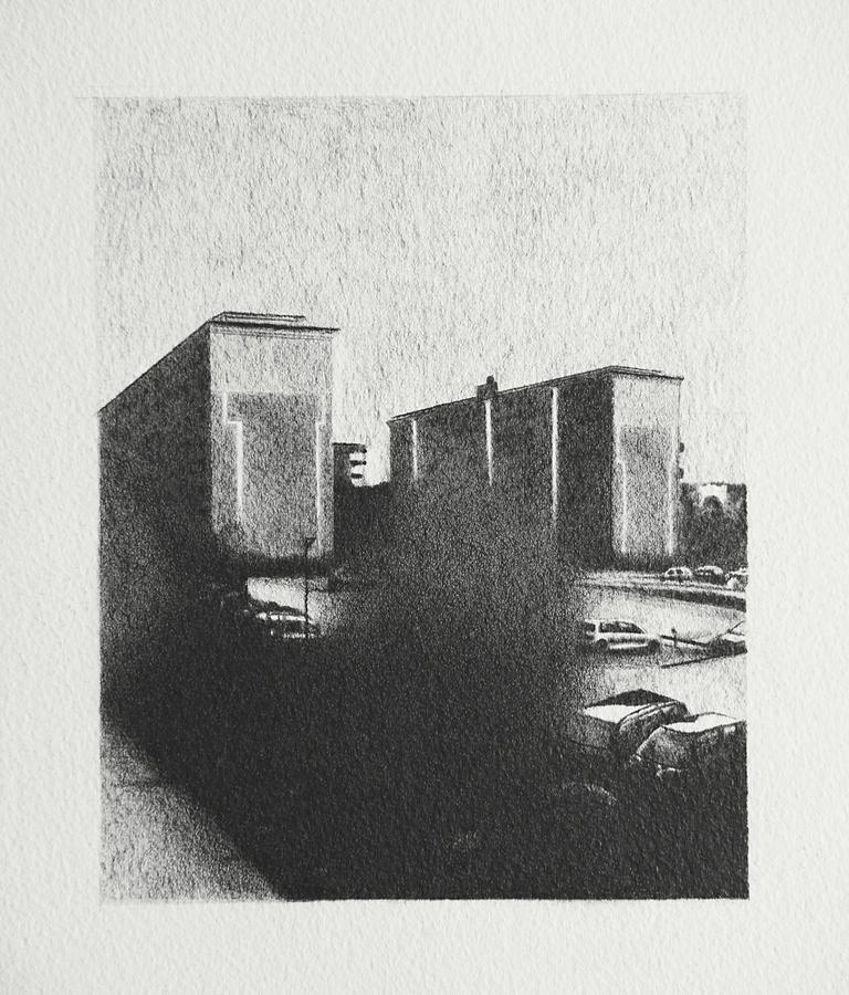 2015, Norsborg 20x15cm, Pencil on Paper