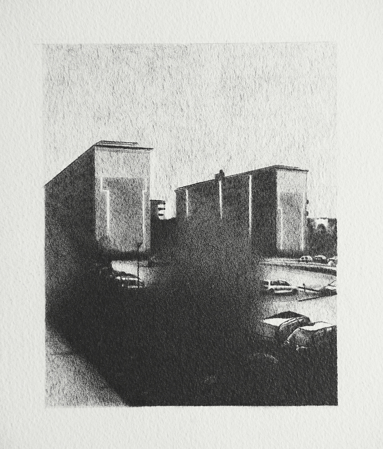 2015, Norsborg 20x15cm, Mechanical Pencil on Paper