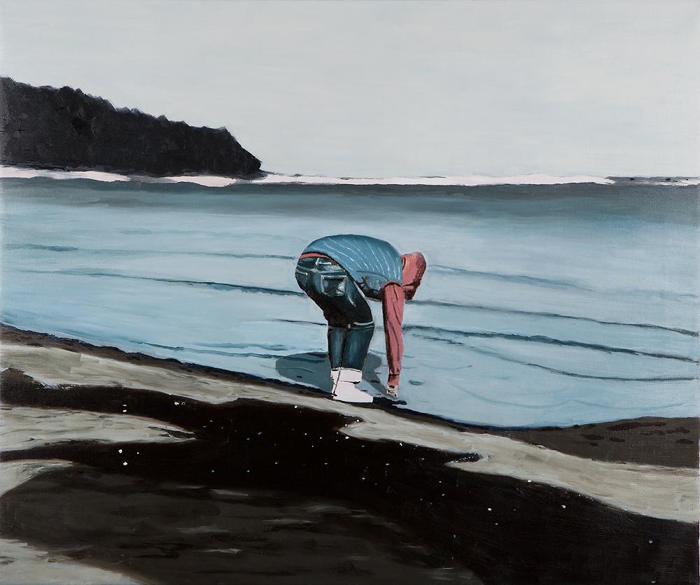 2018, Aquaphobia 50x60cm, Oil on Canvas