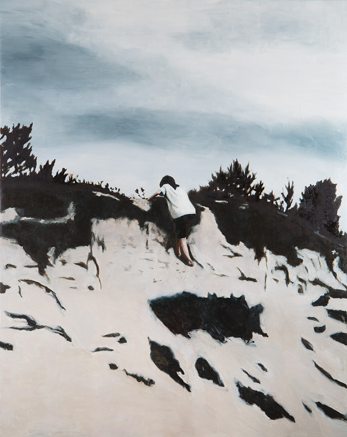 2019, Paranoia 92x70cm, Oil on Canvas