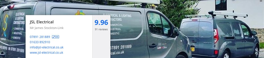 Our  checkatrade  score - correct as of 25th September 2017