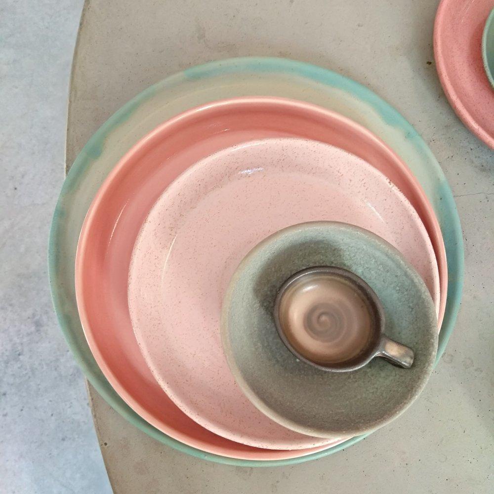 Plates jade green pink capuccino.jpg