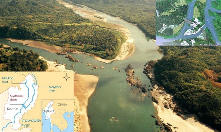 $3.6 billion  Myitsone Dam  in Myanmar: suspended in 2011 due to social/environmental concerns