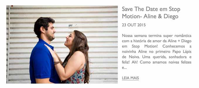 LÁPIS DE NOIVA - Save the date em stop motion de Aline e Diego, contando a história de como se conheceram, até chegar ao pedido de casamento!
