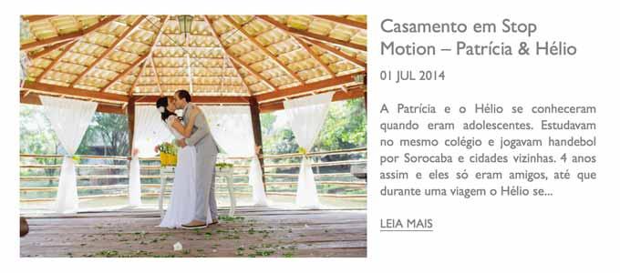 LÁPIS DE NOIVA - Sobre o stop motion produzido no casamento de Patricia e Helio, em Sorocaba