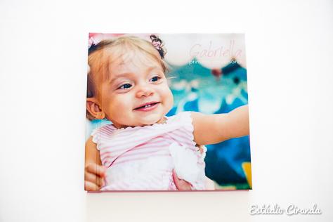 álbum festa infantil gabriella 1 ano