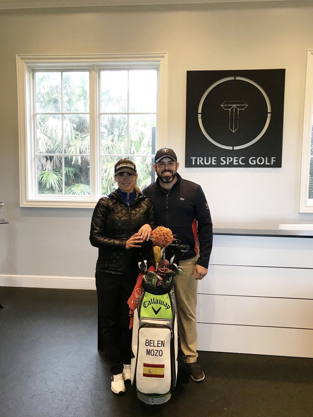 Andy Victoriano @ and I at True Spec  @truescpecgolf  in Trump Doral, Miami.