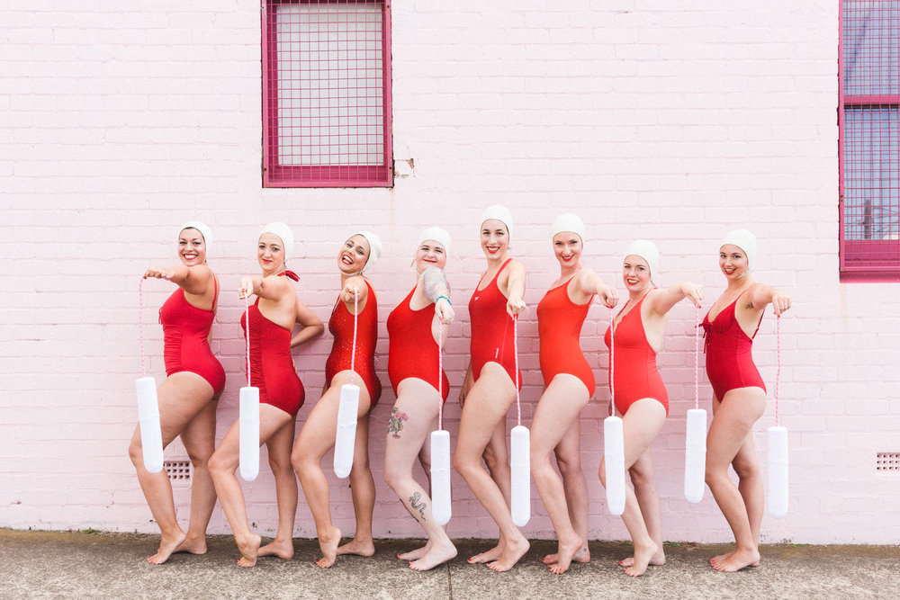Melbourne's least professional, most clamtastic   water ballet squad