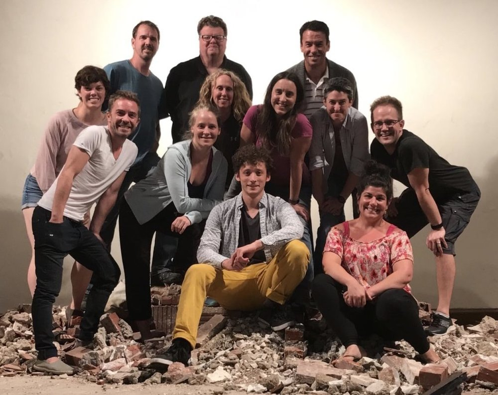 What an incredible group of teachers we have, sitting atop the rubble that is the work in progress of renovation! Check out the Circadium instructor team on the  Circadium Website  if you want to learn more about any of them.