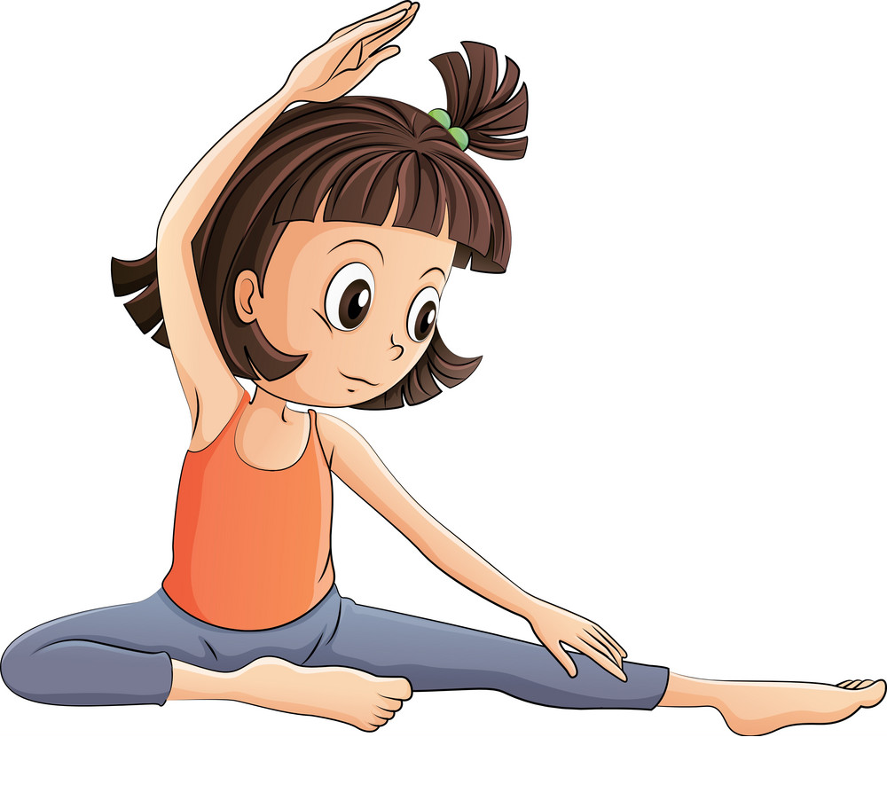 cartoon-yoga-girl-vector-1182244.png