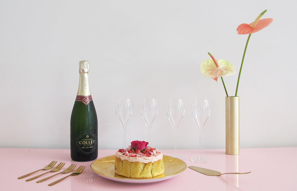 Champagne Cakes The Caker