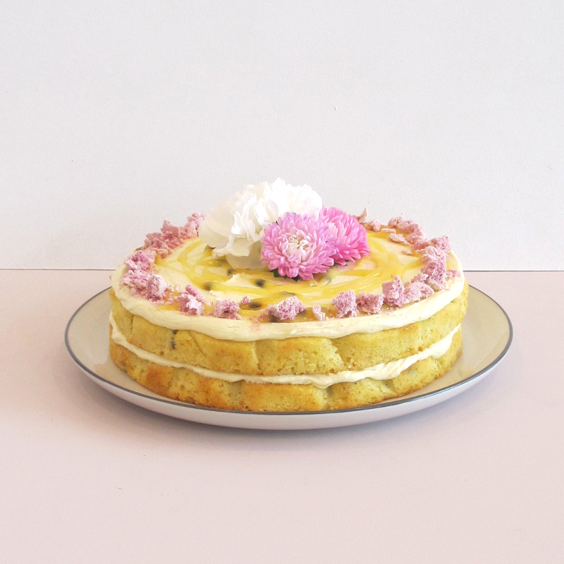 Passionfruit Cake The Caker