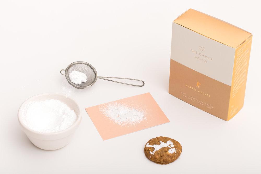 White Chocolate Orange Hazelnut Cookie Mix