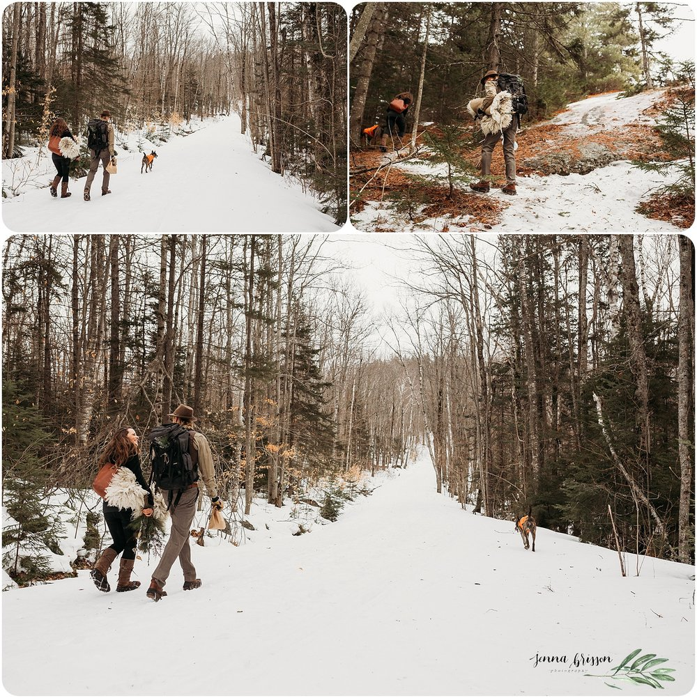 Intimate Vermont Elopement