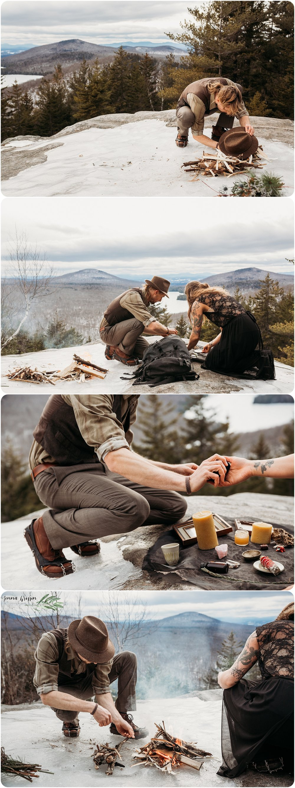 Adventure Wedding Photographer - Vermont Destination Wedding