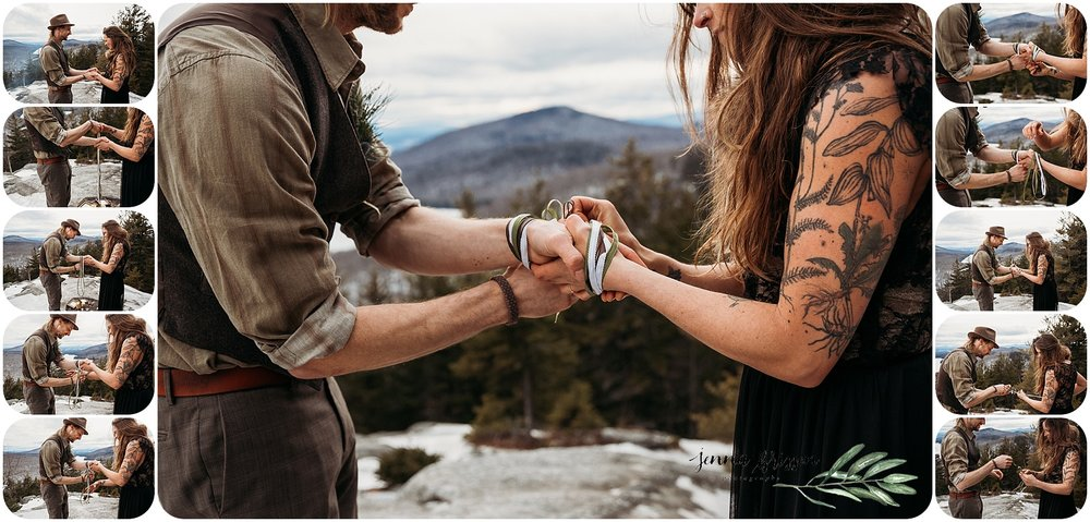 Hand Fasting Wedding Ceremony Images