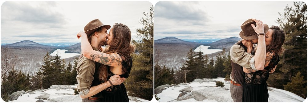 Romantic Outdoor Vermont Wedding - Jenna Brisson Photography