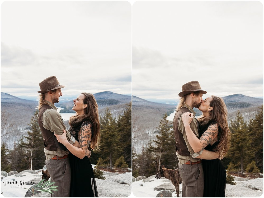 Romantic Outdoor Rustic Bohemian Vermont Wedding