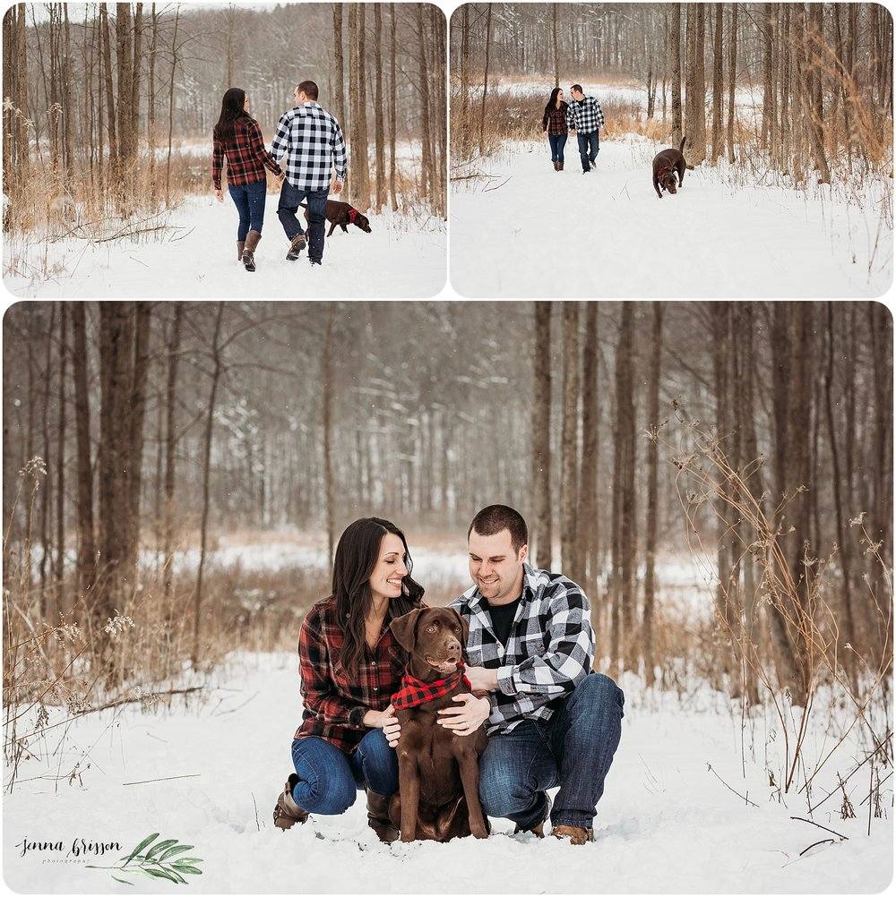 Vermont Winter Engagement Session