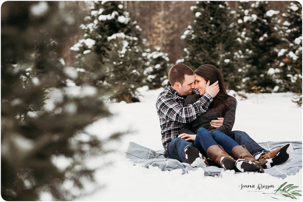 New England Engagement Photos - Jenna Brisson Photography