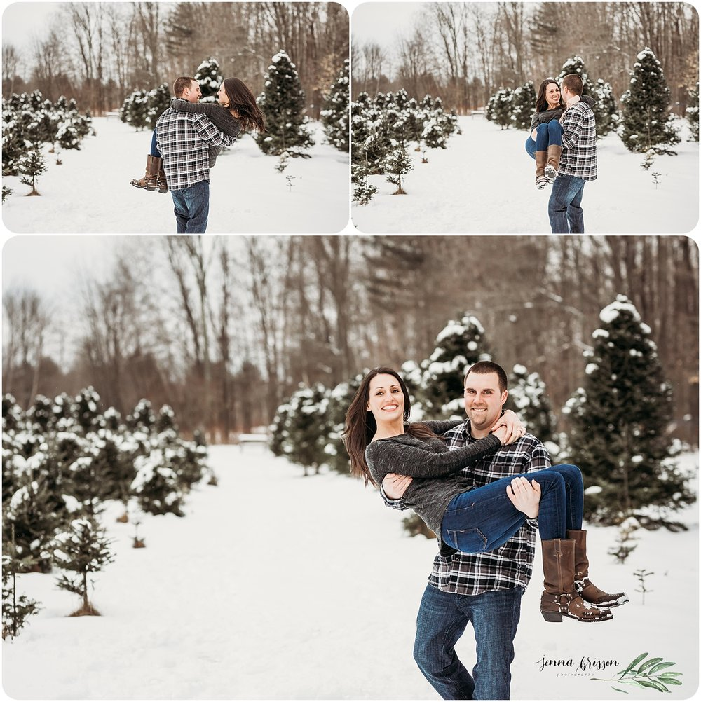 Candid Couple Session Photography Vermont - Jenna Brisson Photography