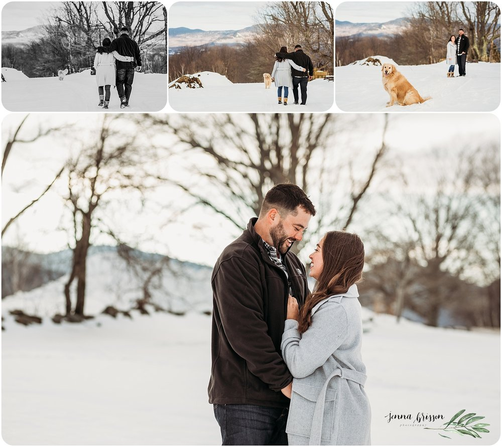 Vermont Engagement Photographer