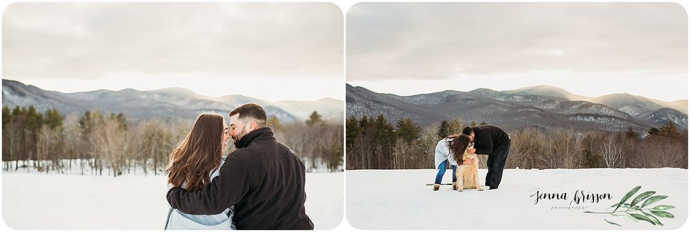 Vermont Couple Session Photography