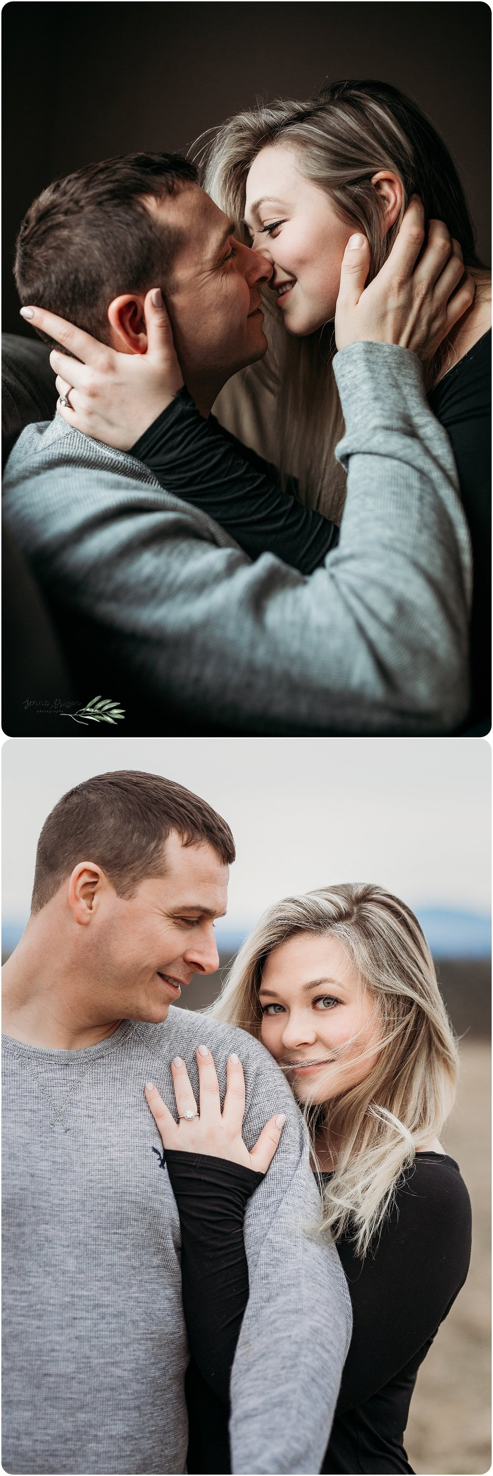 Engagement Session - Burlington, Vermont - Jenna Brisson Photography - Vermont Wedding Photography