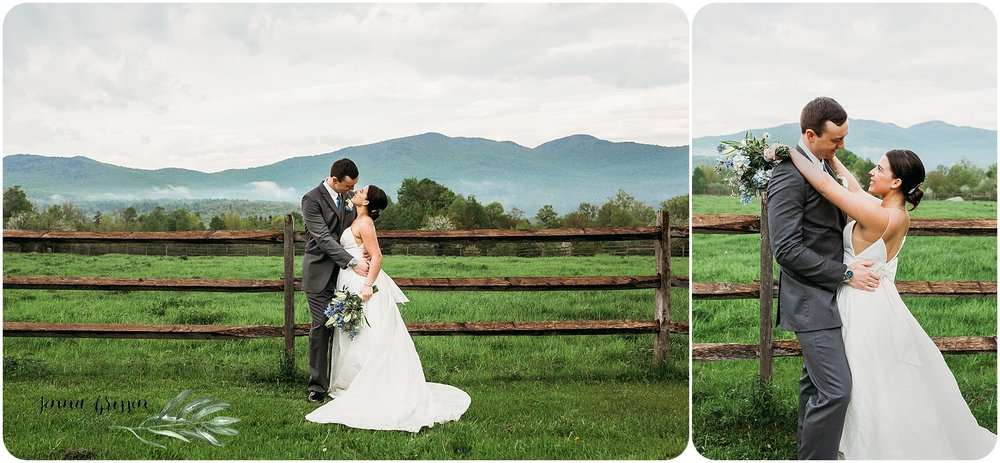 Mountain Top Inn Elopement Vermont - Jenna Brisson